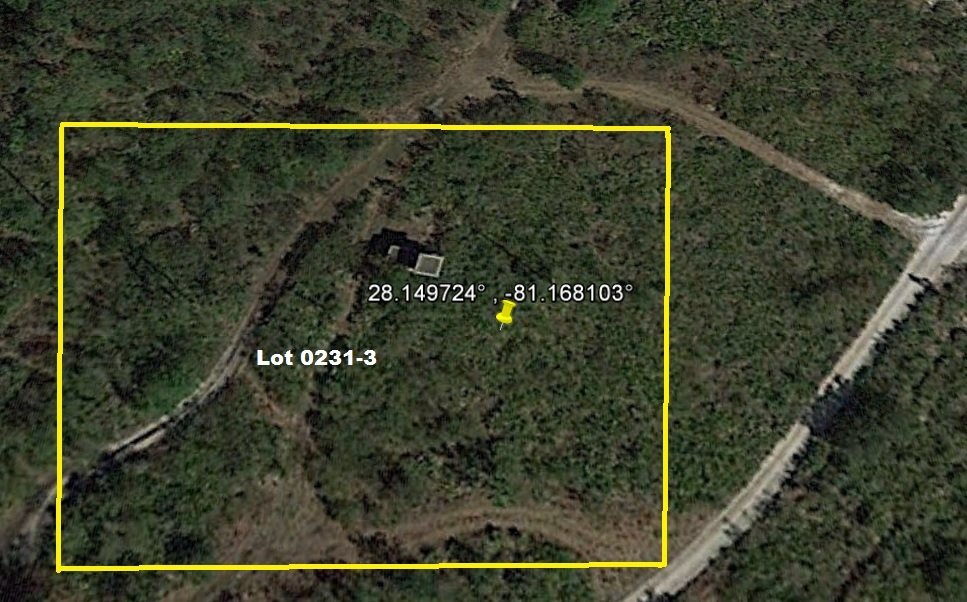 Dry Camp Lot Suburban Estates Holopaw FL Saint Cloud Florida 4x4 atv hunt