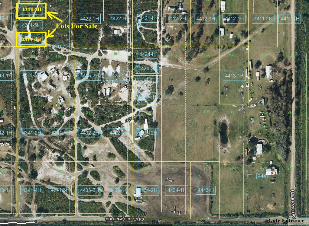 Suburban Estates Holopaw Florida Land Lot For Sale atv hunt camp