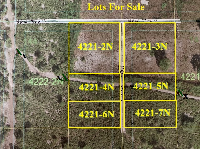 Suburban Estates Holopaw Florida Camp lots for sale 4x4 atv camping